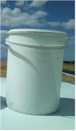 White Bucket with no Lid